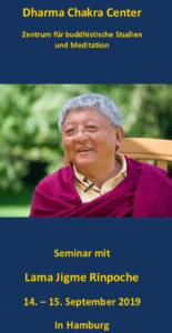 Meditationskurs mit Lama Jigme Rinpoche