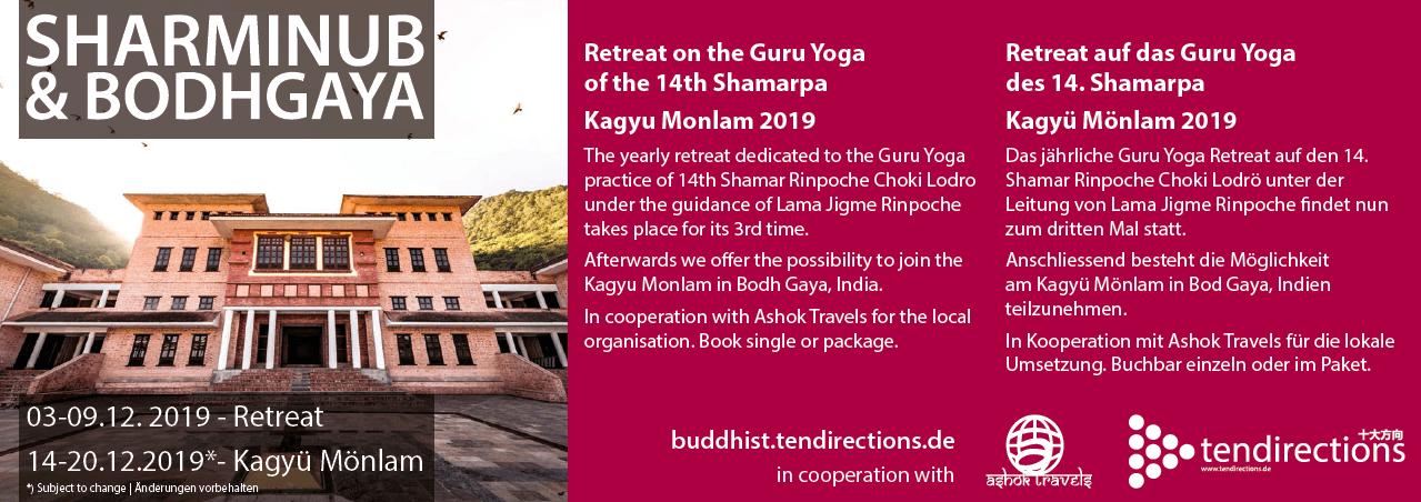 Guru Yoga Retreat mit Lama Jigme Rinpoche in Shar Minub / Nepal